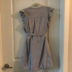 Old Navy Dresses - Old navy NWT blue and white dress medium